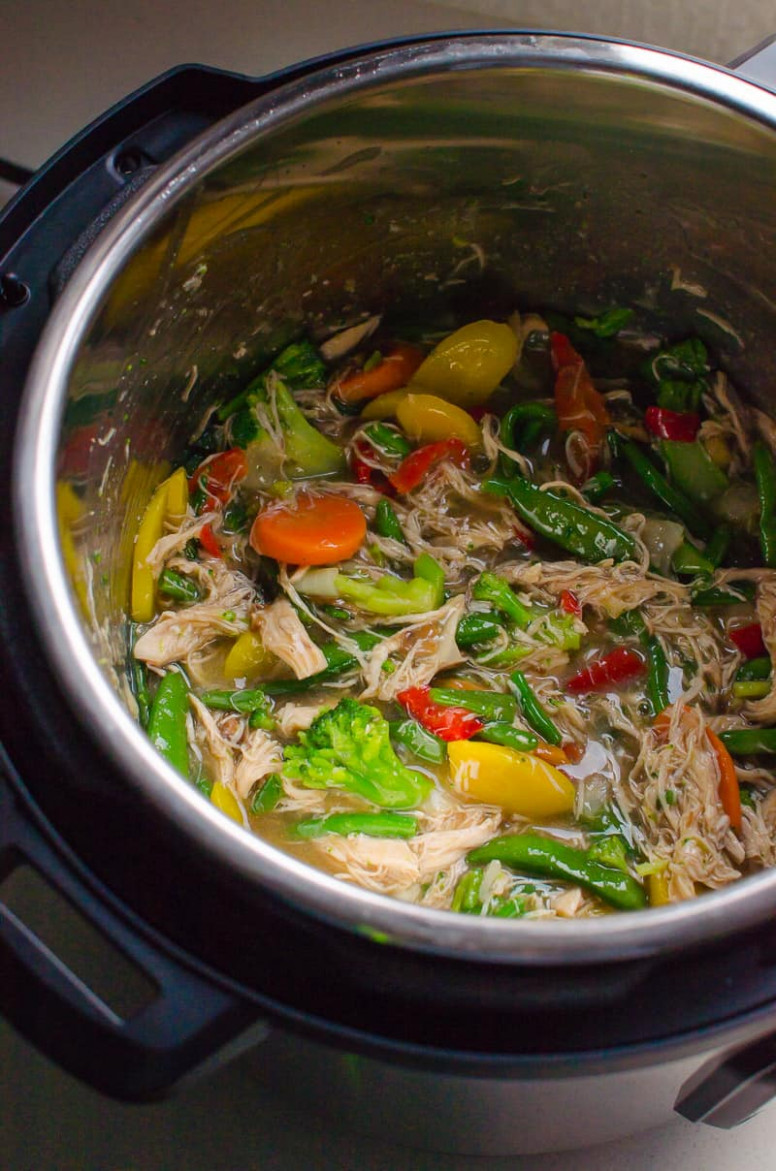 Instant Pot Stir Fry - iFOODreal - Healthy Family Recipes - healthy stir fry recipes chicken