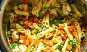 Instant Pot Tuscan Chicken Pasta – Pasta Recipes Chicken