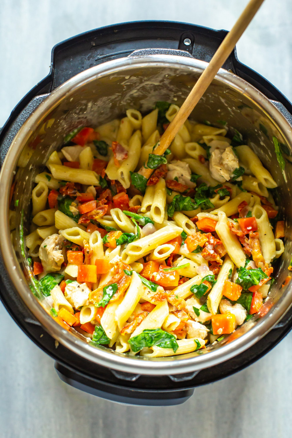 Instant Pot Tuscan Chicken Pasta - pasta recipes chicken