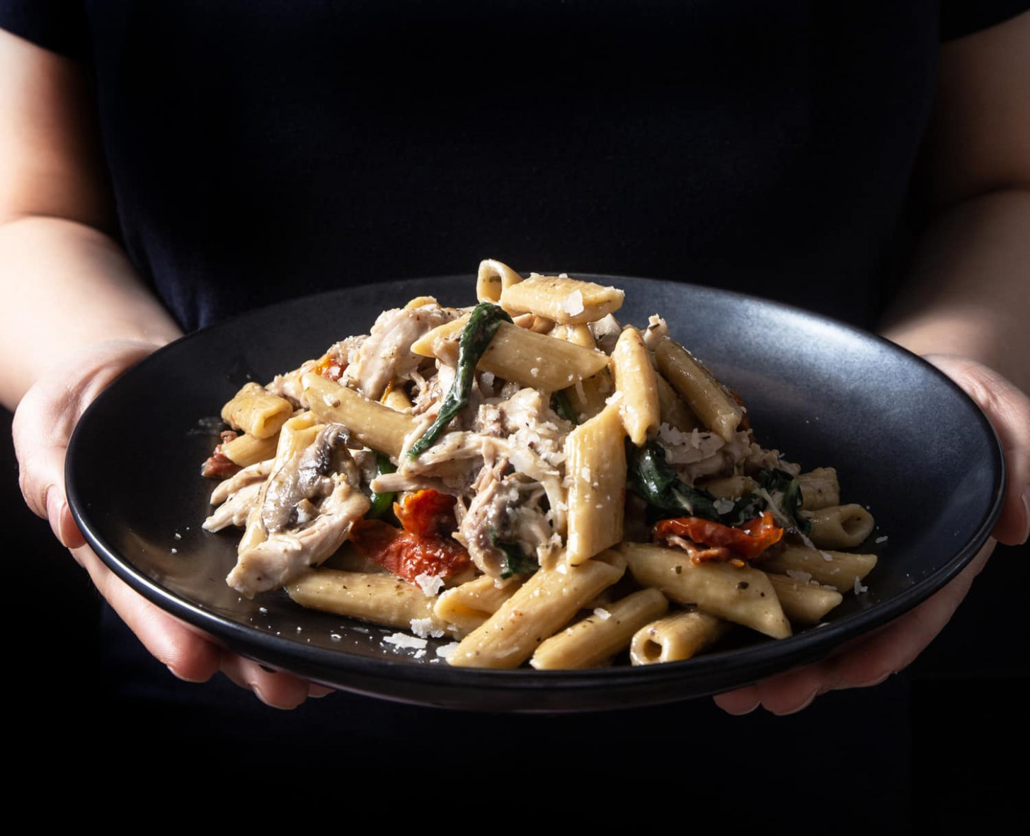 Instant Pot Tuscan Chicken Pasta - recipes ideas with chicken