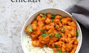 Instant Pot Vegan Butter Chicken With Soy Curls And ..