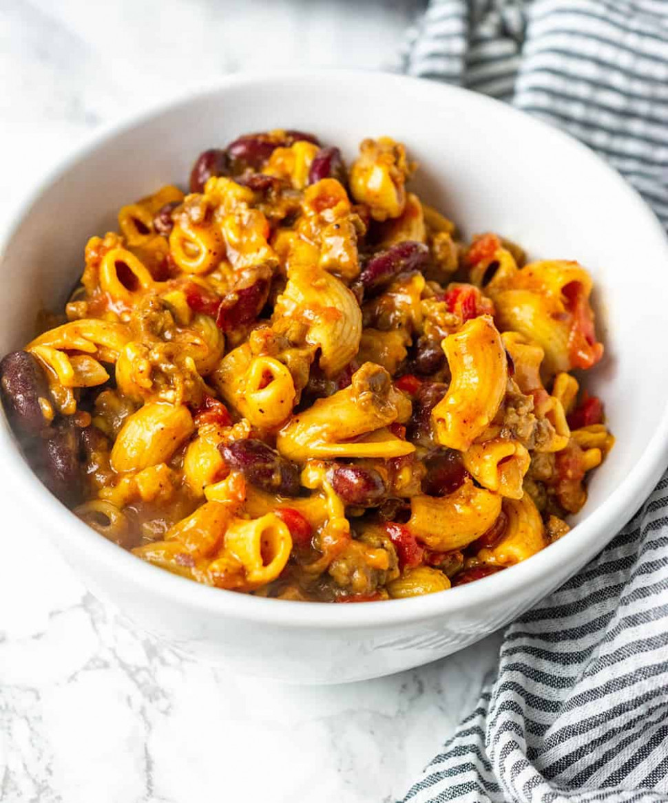 Instant Pot Vegan Chili Mac And Cheese - recipes vegetarian instant pot
