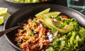 Instant Pot Vegan Quinoa Burrito Bowls | Detoxinista – Vegetarian Recipes For The Instant Pot