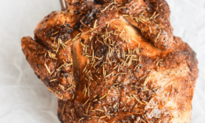 Instant Vortex Whole Rotisserie Chicken How to