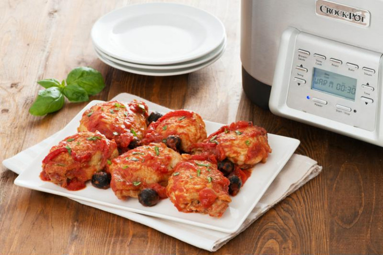 Introducing the Crock-Pot® 5-in-1 Multi-Cooker - one pot chicken recipes dinner party