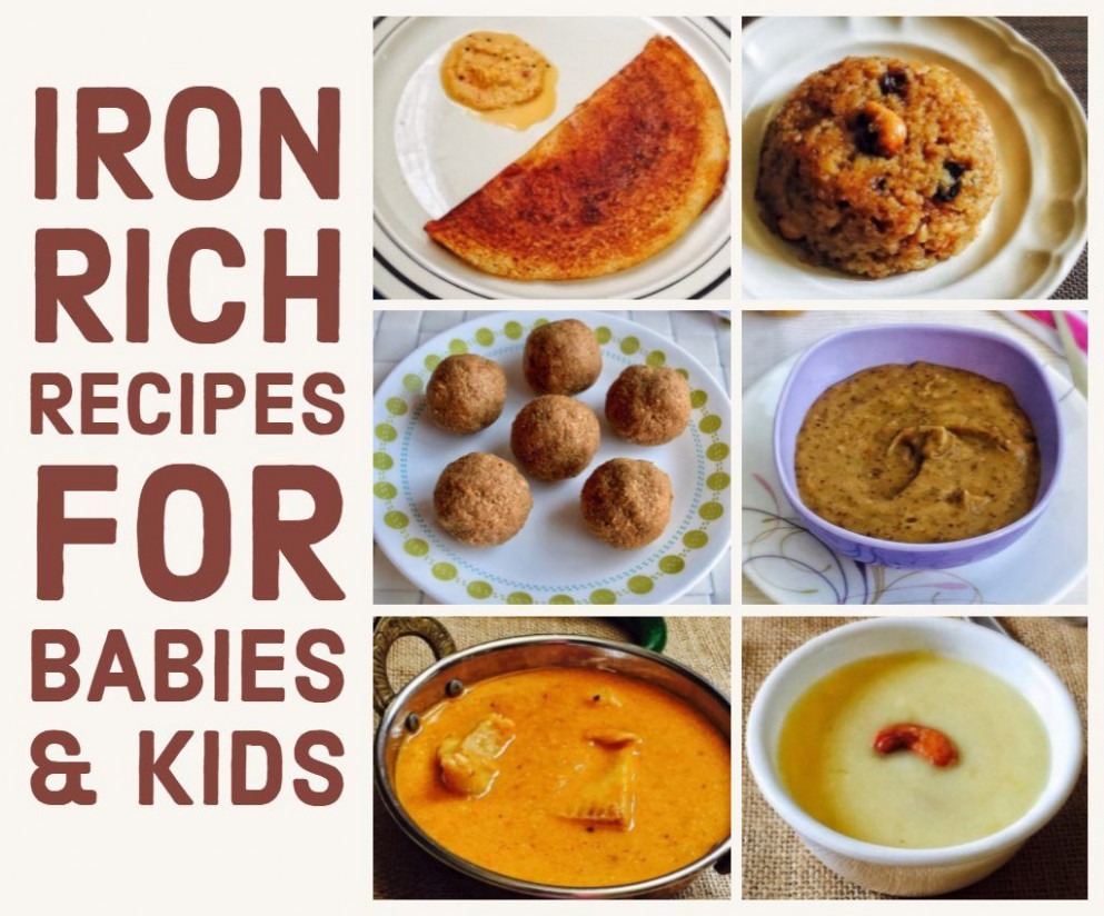Iron-Rich Foods for Babies, Toddlers and Kids (with Recipes ..