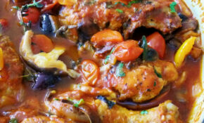 It's A Chicken Cacciatore Kind Of Day! – Proud Italian Cook – Recipes Bone In Chicken Breast