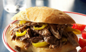 Italian Beef Hoagies Recipe | Taste Of Home – Dinner Recipes You Can Make The Night Before