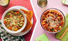 Italian Chicken Sausage And Veggie Soup For Dinner With A Cavatappi Domani  For Lunch – Recipes Vegetarian Italian