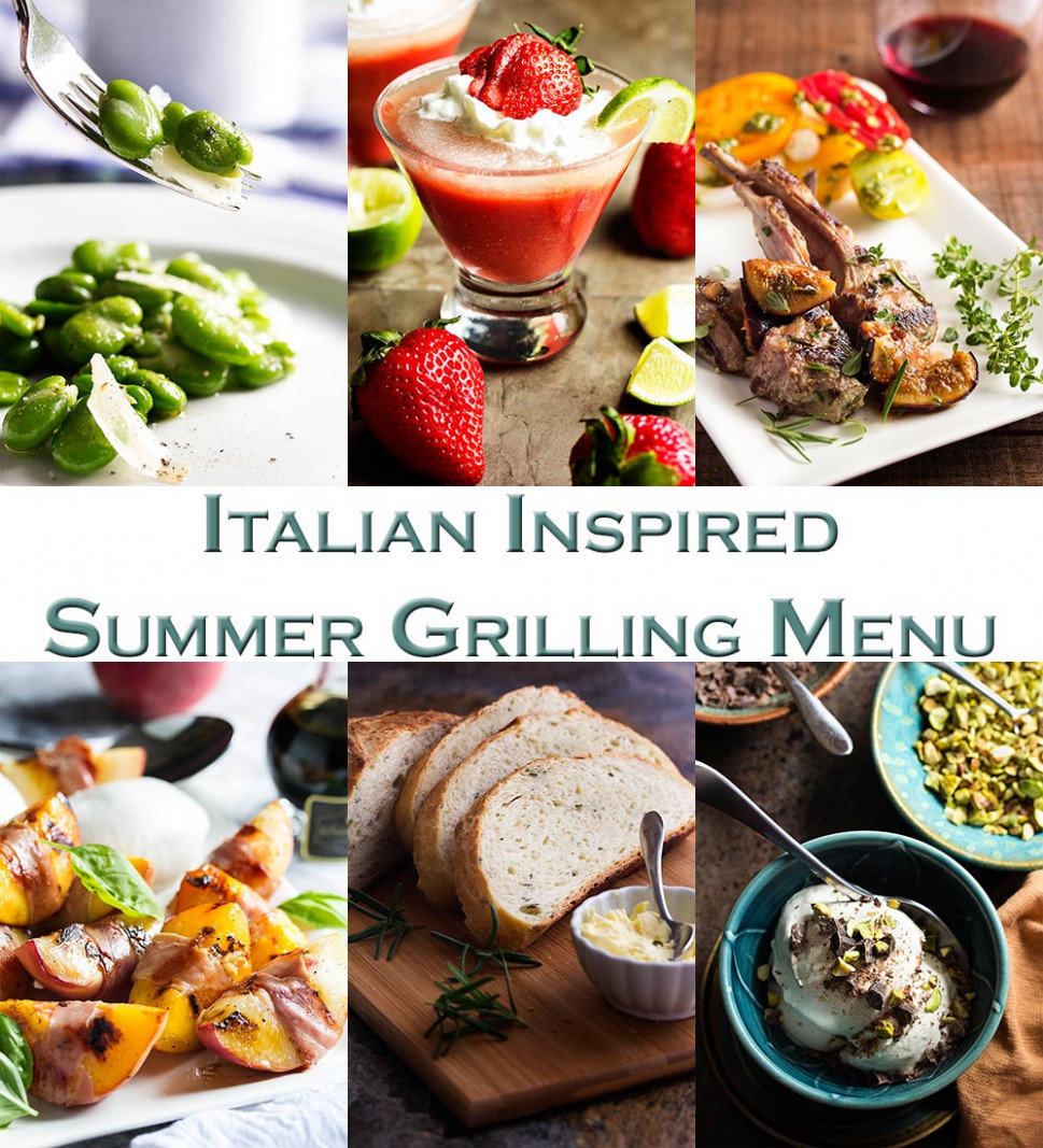 Italian Inspired Summer Grilling Menu - Just a Little Bit of ..