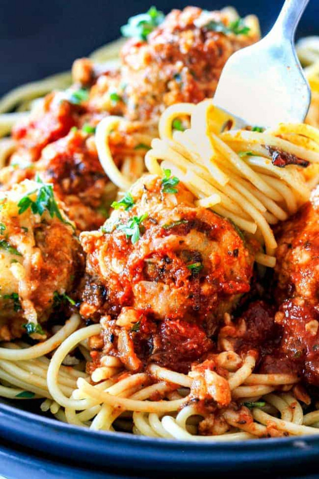 Italian Meatballs (soft and juicy from a REAL Italian!) - recipes soul food with pictures