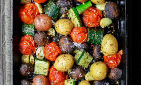 Italian Oven Roasted Vegetables | Recipe | Sides | Roasted ..