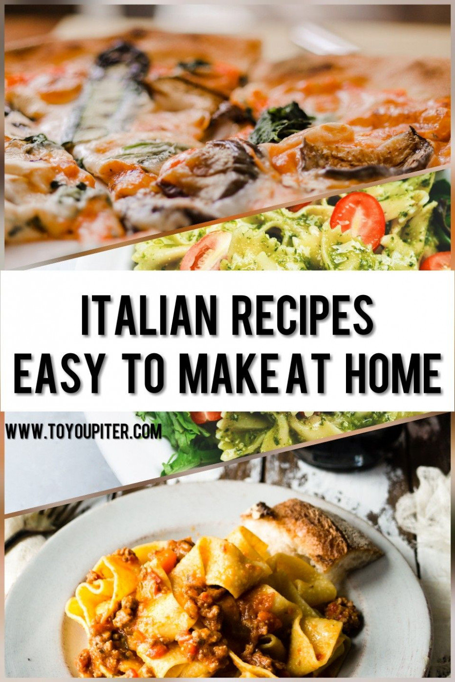Italian Recipes Which You Can Make At Home, 13 Minutes ..