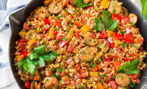 Italian Sausage And Rice Casserole – Recipes Heck Chicken Sausages