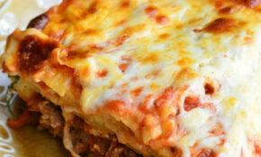 Italian Sausage Lasagna – Will Cook For Smiles – Recipes Lasagna Vegetarian
