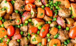 Italian Sausage Skillet With Vegetables And Potatoes – Recipes With Sausage For Dinner