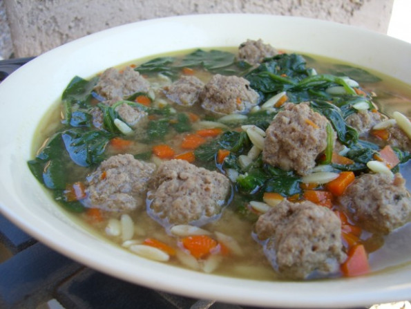 Italian Wedding Soup Recipe - Food