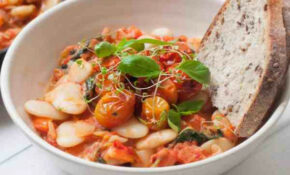Italian White Butter Beans And Tomato Stew  Vegan Lima ..