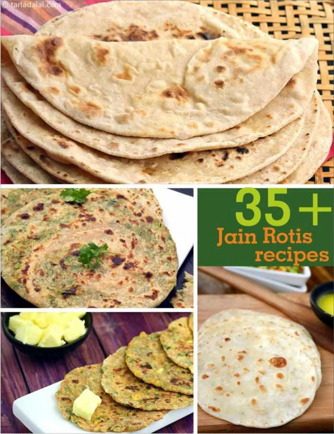 Jain Roti Recipes, Jain Paratha Recipes, Tarladalal.com ..