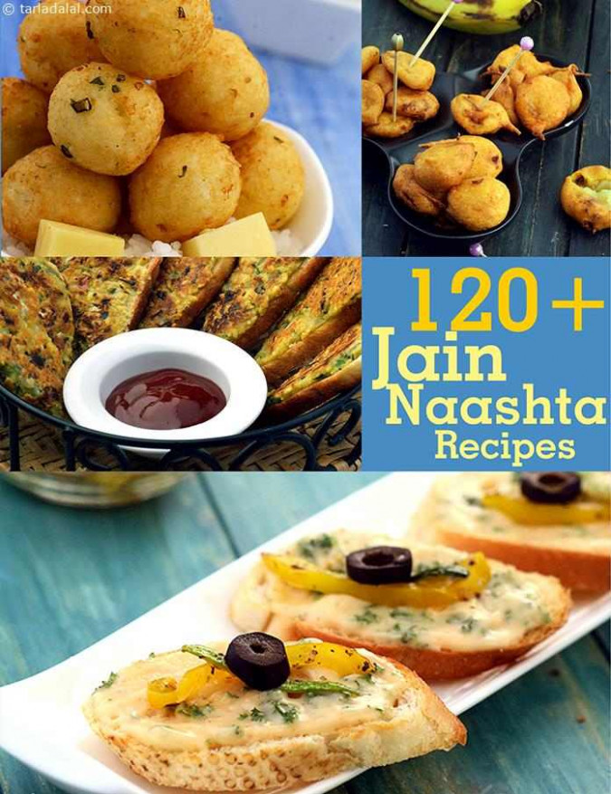 Jain Snack Recipes, Taditional Jain Naashta Recipes ..