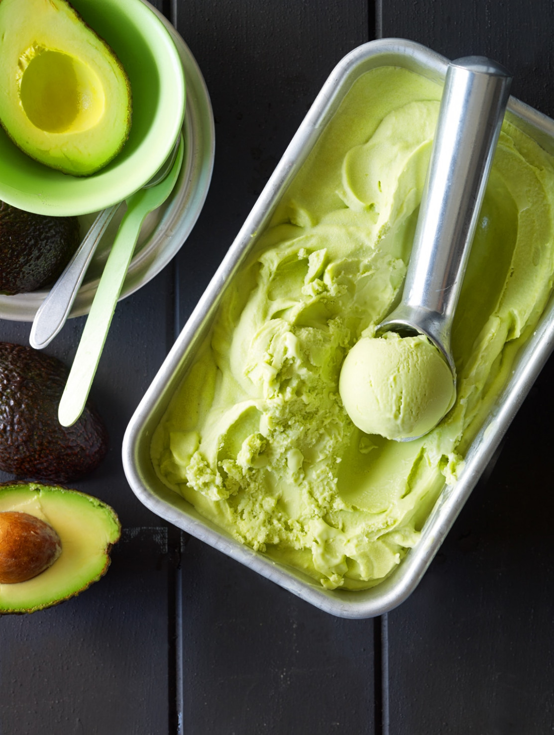 Jamaican Avocado Ice Cream Recipe : SBS Food - Jamaican Food Recipes