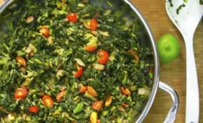 Jamaican Callaloo And Swiss Chard – Jamaican Vegetarian Recipes