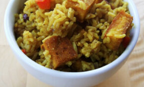 Jamaican Cook Up Rice – Recipe Vegetarian Red Curry