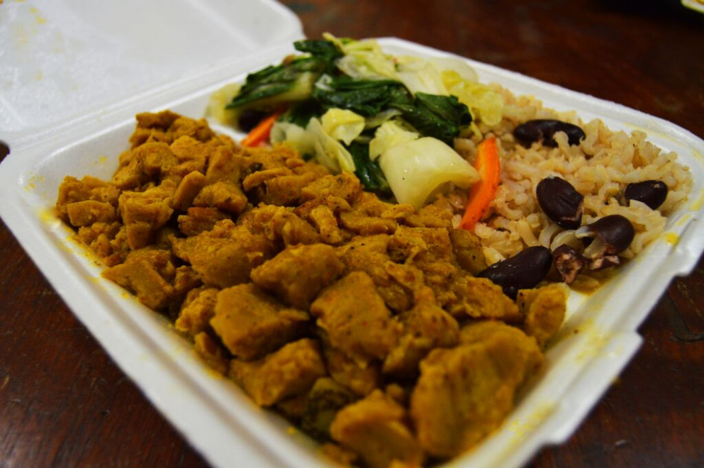 Jamaican Curry Veggie Chunks Recipe | Besto Blog - Jamaican Vegetarian Recipes