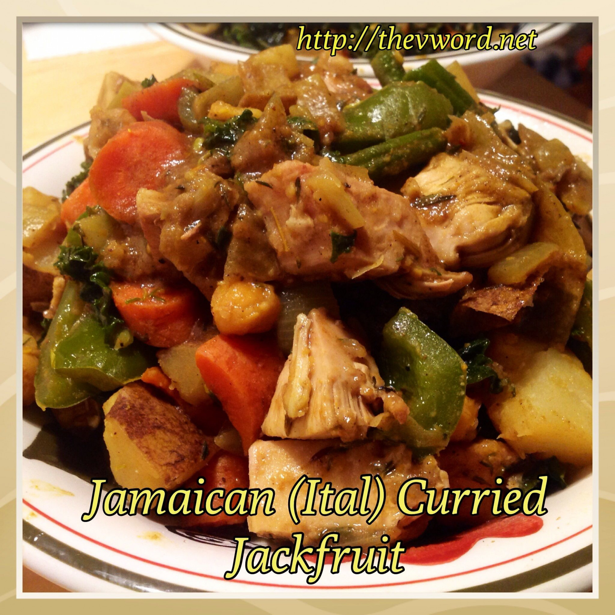 Jamaican (Ital) Curried Jackfruit with Chickpeas | Recipe ..