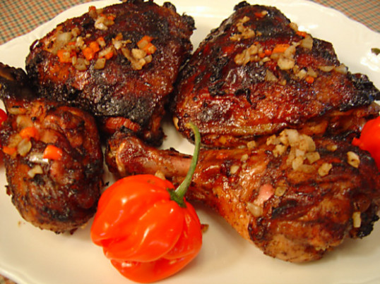 Jamaican Jerk Chicken For Two Recipe - Food