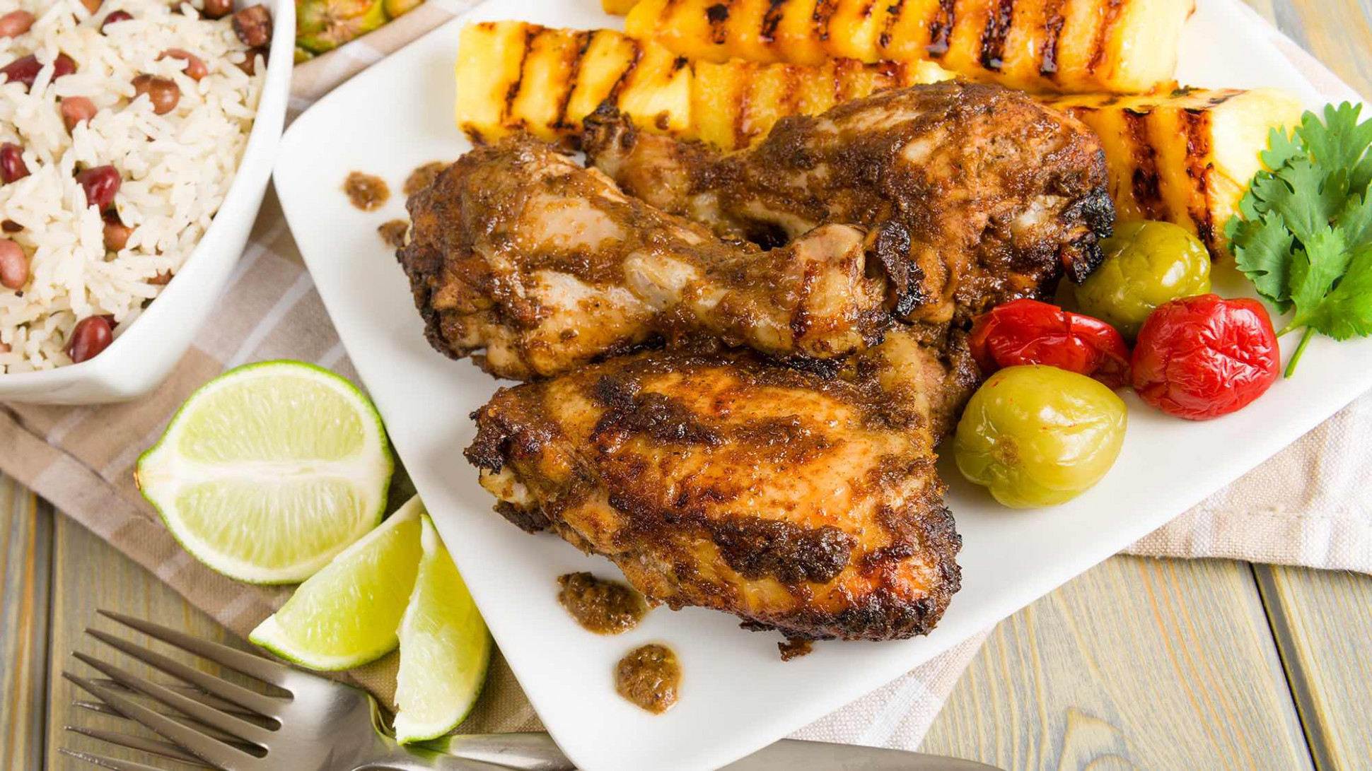 Jamaican Jerk Chicken - Jamaican Recipes Chicken