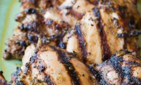Jamaican Jerk Chicken Thighs - A Spicy Perspective