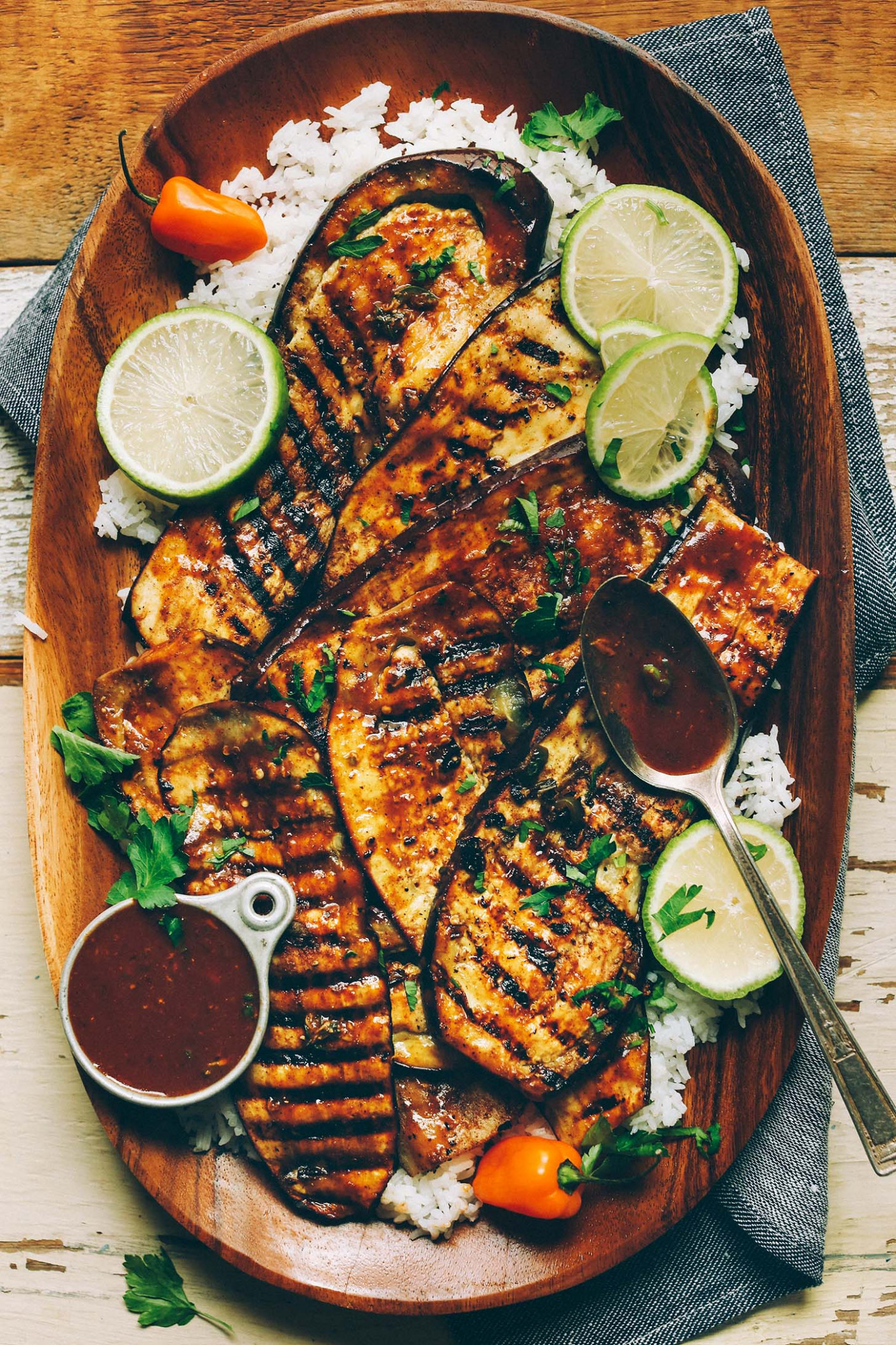 Jamaican Jerk Grilled Eggplant (10 Minutes!) - chicken recipes jamaican