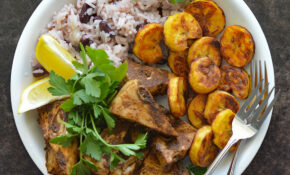Jamaican Jerk Jackfruit With Beans And Rice – Vegetarian Recipes Jamaican