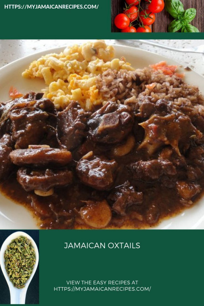 Jamaican Oxtails - jamaican dinner recipes