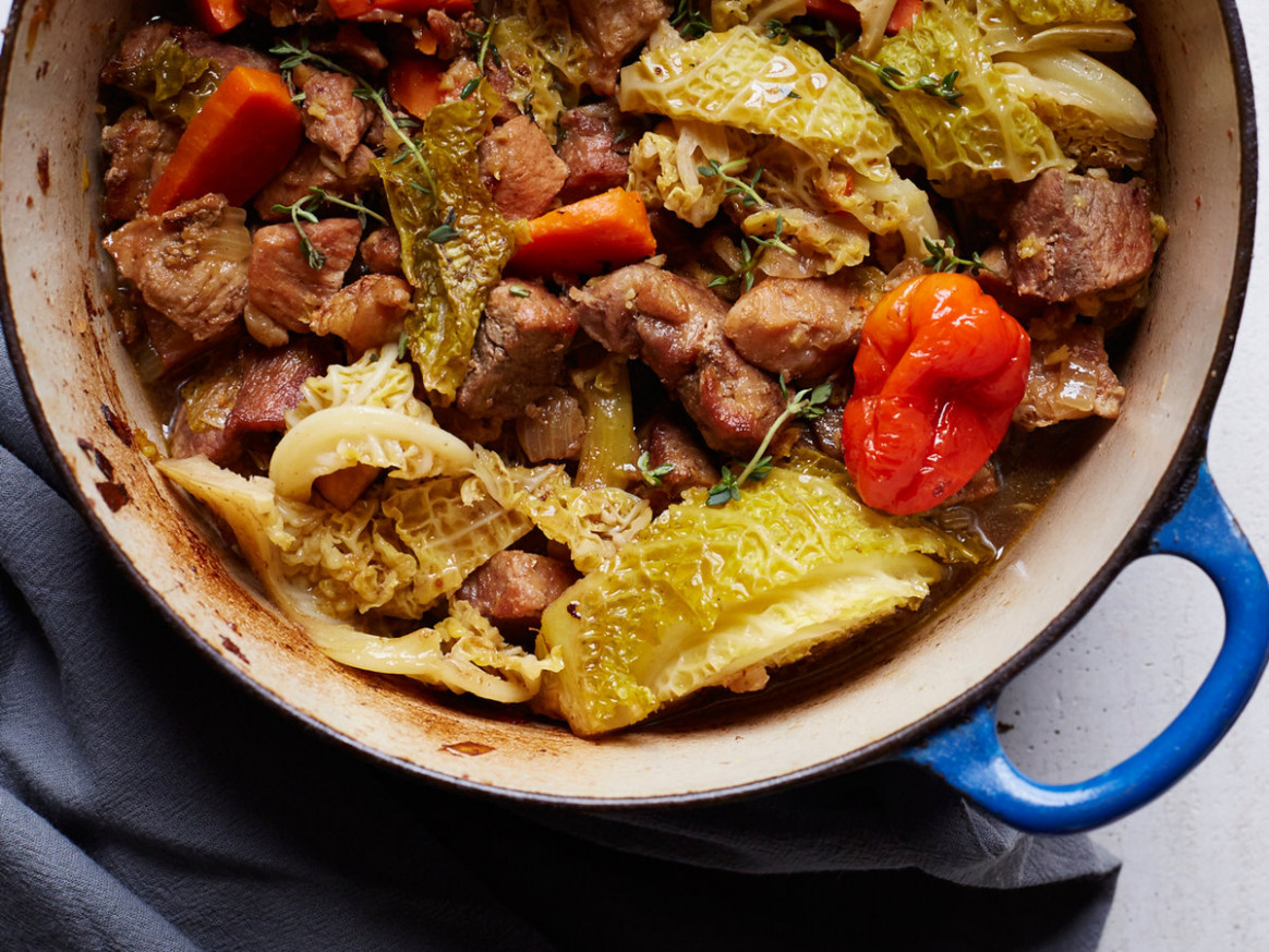 Jamaican Pork Stew - jamaican dinner recipes