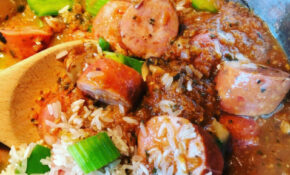Jambalaya In The Pan 1 – Mesa De Vida – Healthy Recipes Jambalaya