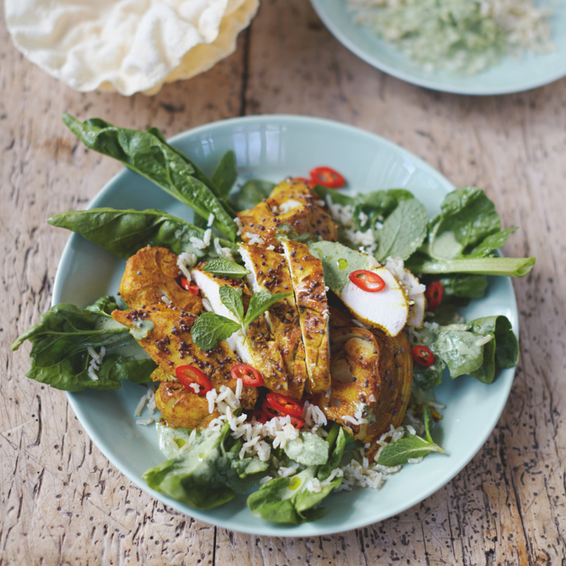 jamie oliver roast chicken salad