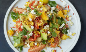 Jamie Oliver's Grilled Corn And Quinoa Salad – Healthy Recipes Jamie Oliver