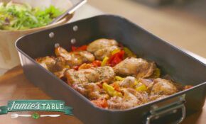 Jamie's Hit N Run Traybaked Chicken Recipe – Jamie's Table – Chicken Recipes Youtube