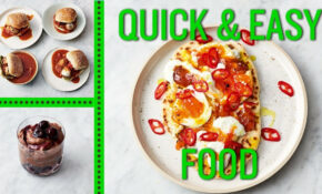 Jamie's Quick And Easy Food | Eggs, Meatballs And Mousse – Quick And Easy Food Recipes