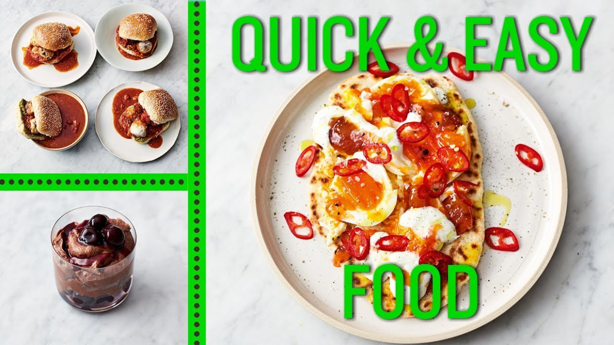 Jamie's Quick And Easy Food | Eggs, Meatballs And Mousse - Quick And Easy Food Recipes
