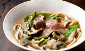 Japanese Broth With Udon Noodles – Japanese Recipes Dinner Party