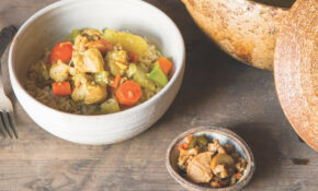 Japanese Chicken Curry With Relish Of The Seven Lucky Gods – Japanese Recipes Chicken