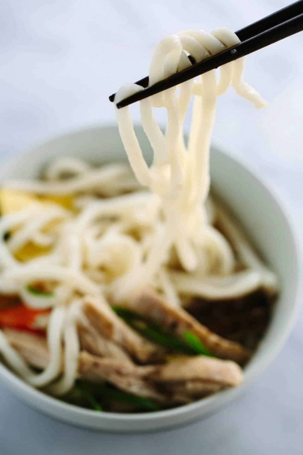 Japanese Chicken Udon Soup Recipe with Bok Choy | Jessica ..