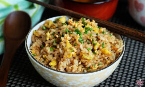 Japanese Garlic Fried Rice