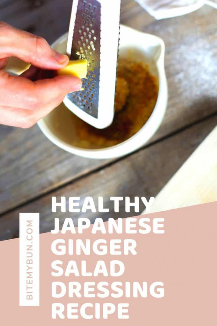JAPANESE GINGER, ONION AND CARROT SALAD DRESSING - recipes salad dressings healthy