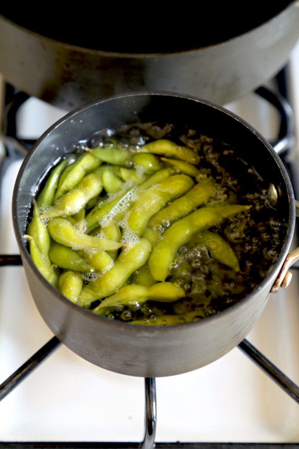 [Japanese Recipes] Healthy Snack Edamame - All Asian ..