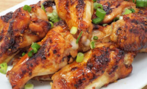Japanese Style Sweet & Spicy Glazed Chicken Wings – Chicken Recipes Japan