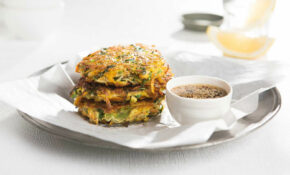 Japanese Vegetable Pancake Recipe | Healthy Lunch Box – Healthy Recipes Japanese